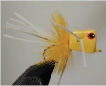 Walt's Bass/Bream Poppers, Yellow