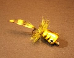 Walt's Panfish Poppers, Yellow Bee